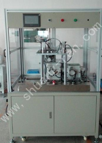 供应设备名称:抽真空打钢珠封口机 /抽真空打胶塞封口机 设备型号:SR0033 设备功能:适用于方型 /